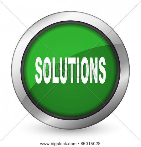 solutions green icon