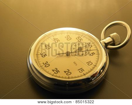 close of the stop watch