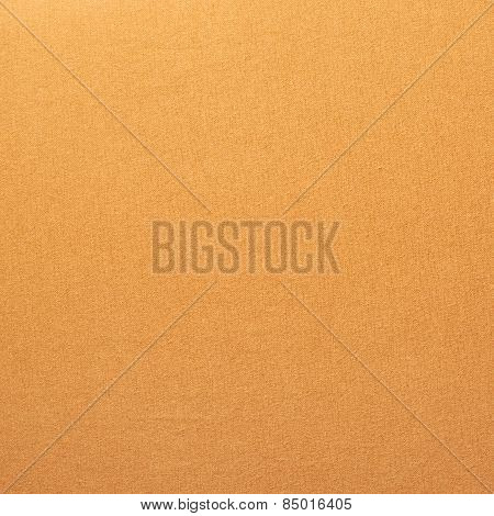 Orange cloth material