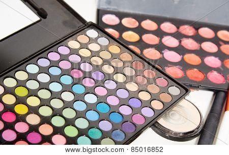 Make up artist set on photojob.
