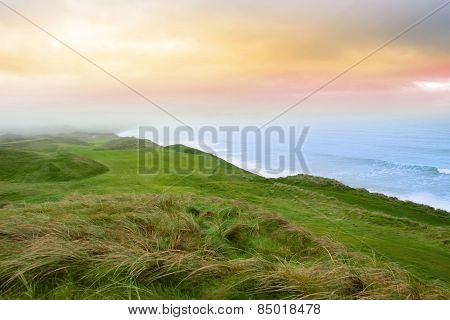 View Of The Ballybunion Links Golf Course