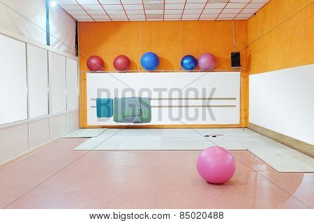 The image of a pilates ball
