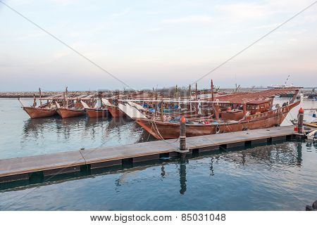 Fishing Boats In Kuwait