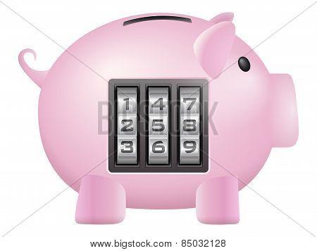 Piggy Bank Safe