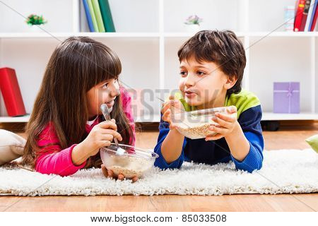 Healthy breakfast for children