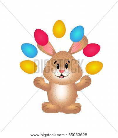 Easter Rabbit Juggle