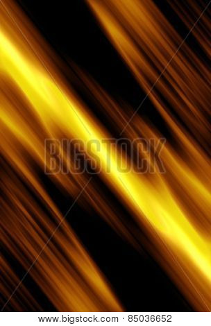 gold striped background on a diagonal, abstract