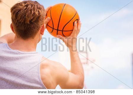 Basketball Shooting Action.