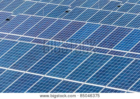 panels a solar power plant. solar energy is nachhaltug and environmentally friendly.