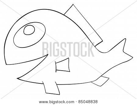 Happy Holiday - April Fish With Comb