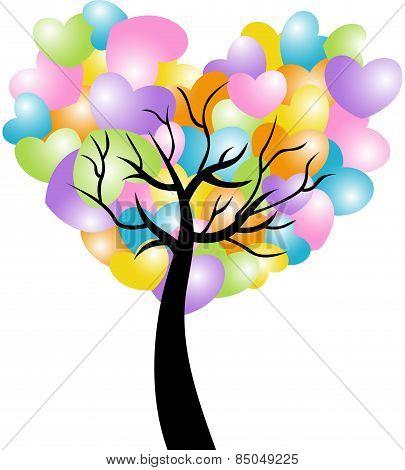 Spring Heart Tree