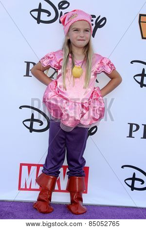 LOS ANGELES - OCT 1:  Mia Talerico at the VIP Disney Halloween Event at Disney Consumer Product Pop Up Store on October 1, 2014 in Glendale, CA