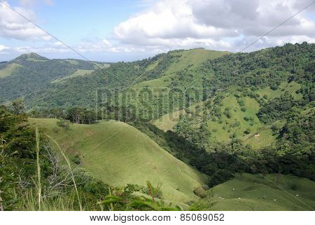 Landscape in Costa Rica