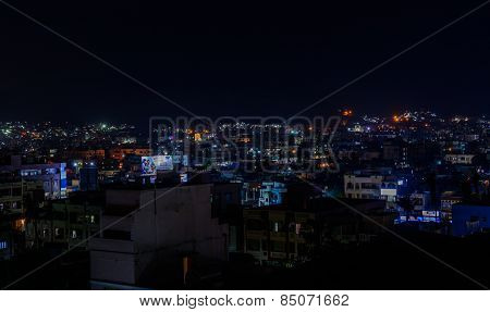 City nightscape