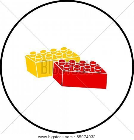 toy building blocks symbol