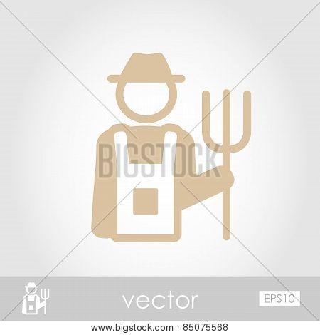 Farmers Vector Icon
