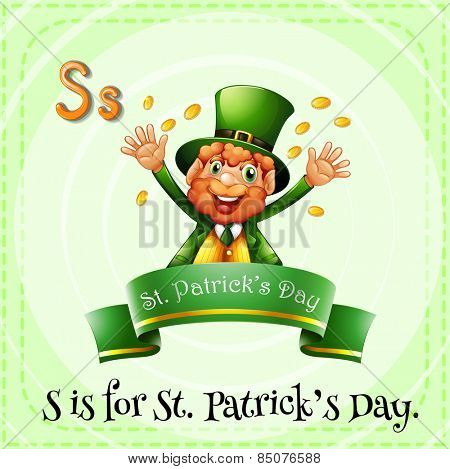 Letter S is for St Patricks day