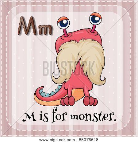 Alphabet M is for monster