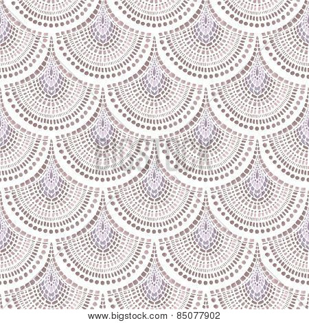Abstraction seamless pattern with watercolor design elements.