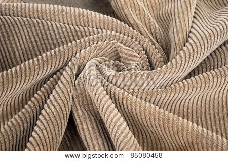 Corduroy abstract background