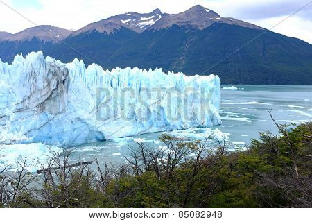 View of Perito Moreno Glacier- South Patagonia, Argentina