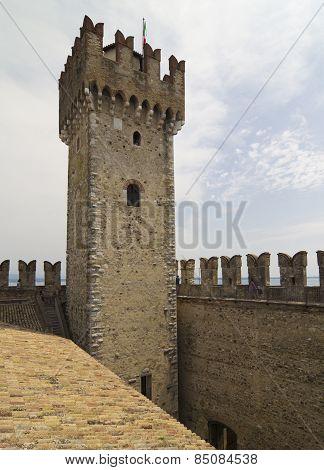 Sirmione Fortress, Lake Garda