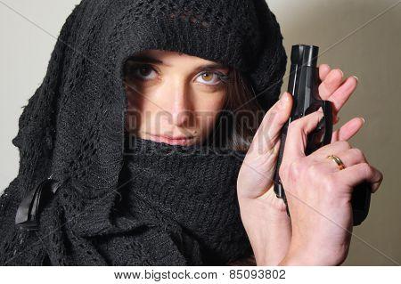 Terrorist lady