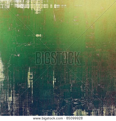 Abstract textured background designed in grunge style. With different color patterns: yellow (beige); brown; green