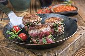 stock photo of wagyu  - Medallion of Beef Fillet - JPG