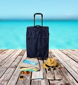 image of blue things  - summer vacation - JPG