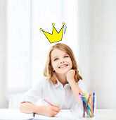 stock photo of crown  - education - JPG
