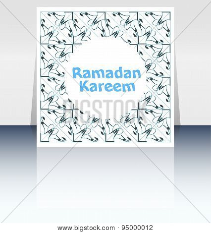 The Sultan Of Eleven Months Ramadan Greeting Card. Holy Month Of Muslim Community