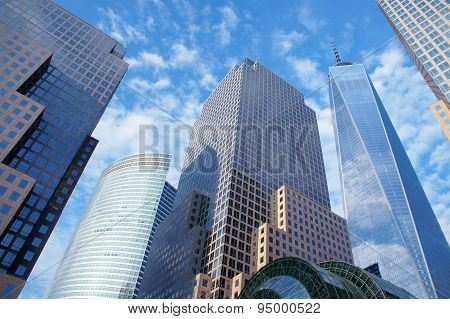 Skyscrapers Of New York