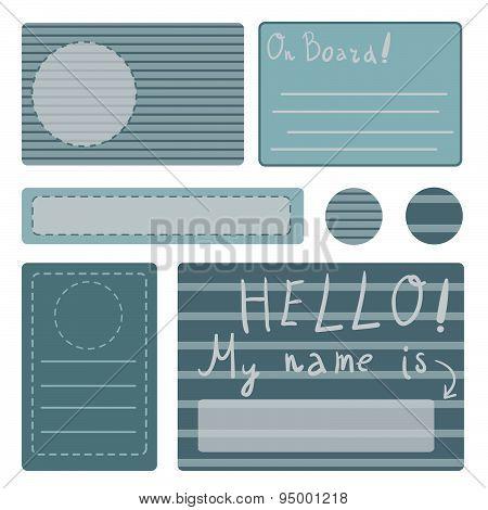 Sailor Sticker Label Set