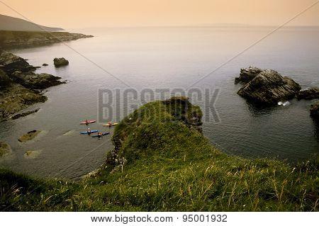 Achill Island Coast In Ireland