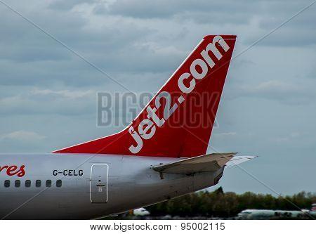 Jet2 Plane Tail