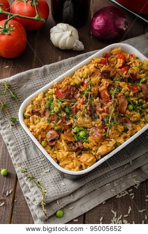Cajun Chicken With Rice