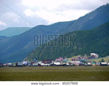 Irkutsk Region. Goloustnoe. Siberian Nature.