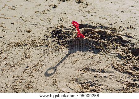 Kid Plastic Sand Toy