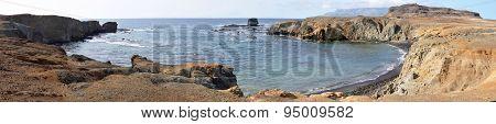Horse Shoe Shaped Bay In Djeu