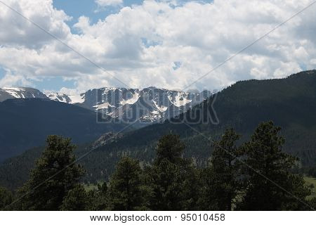 Snowcapped Rocky Mountains