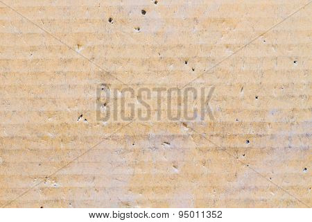 Cardboard Texture With Creases