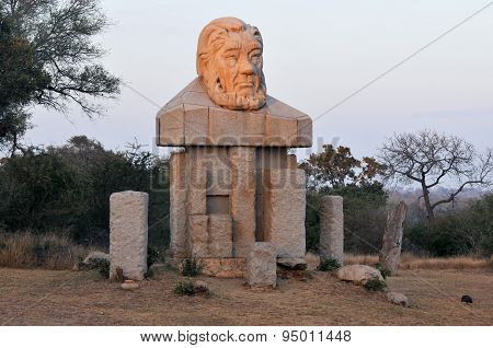Paul Kruger Statue - Kruger National Park, South Africa