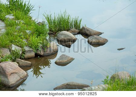 Stones In The Lake