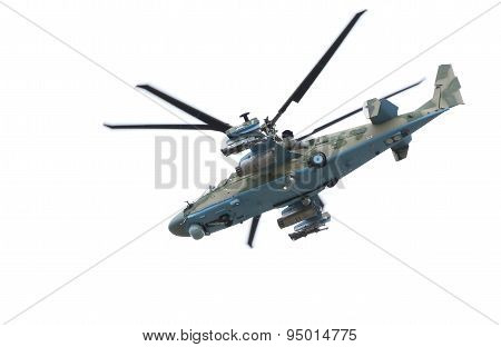 Russian Helicopter Ka-52 alligator.