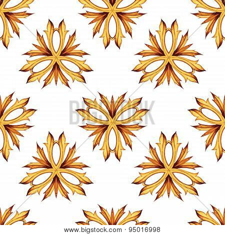 Seamless vector background. Ancient ornament. Victorian style de