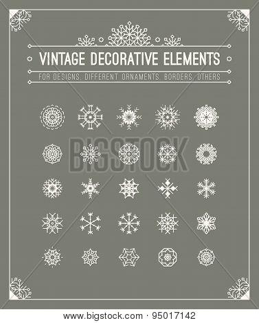 Minimalistic design. Decorations elements.