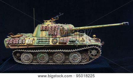 German heavy tank of WWII. model