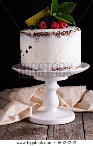 Gluten free layered cake