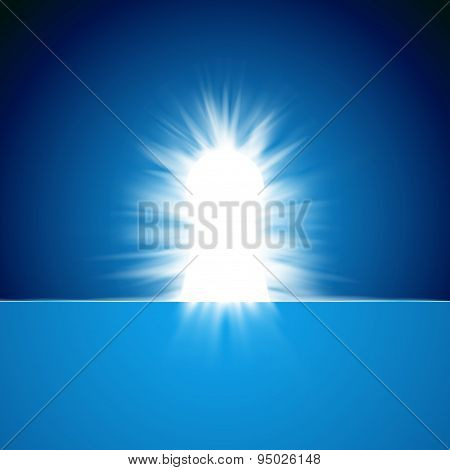 Shiny Secret Keyhole Concept Abstract Background